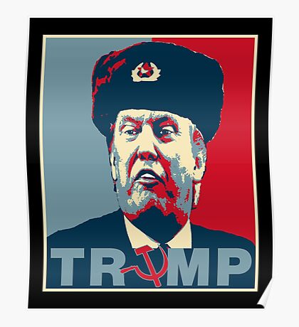Trump Russia Poster Poster