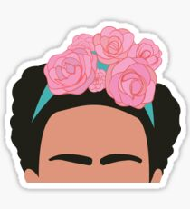 Frida Kahlo Silhouette Sticker