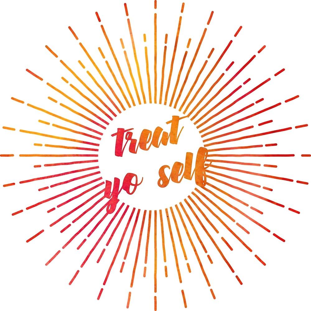 treat yo self (rays) by starkle
