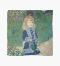 Auguste Renoir A Girl with a Watering Can 1876 Painting Scarf