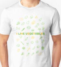 I LIKE VEGETABLES Unisex T-Shirt