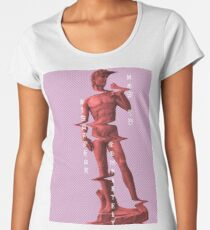 How to Disappear Completely/ Vaporwave A E S T H I C S Women's Premium T-Shirt