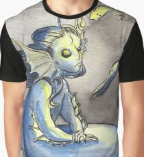 MerMay Angler Fish Merfolk and Food Graphic T-Shirt
