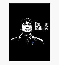 Antonio Conte - The Godfather  Photographic Print
