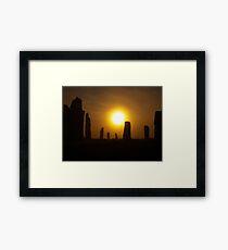 Misty Morning Callanai Framed Print