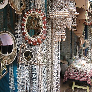 Decorative shells, Goa by SheriarIrani