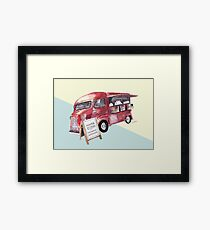 Cafe Truck - Edinburgh, Scotland Framed Print