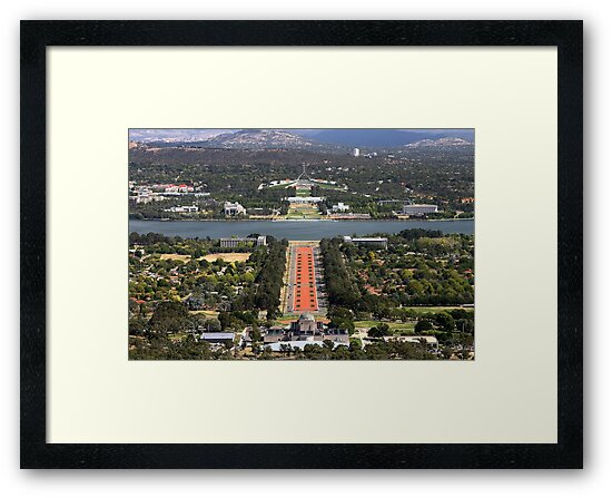 1419 View from Mt Ainslie by Hans Kawitzki