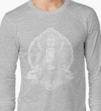 Gautama Buddha White Halftone T-Shirt