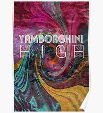 Yamborghini hoch Poster