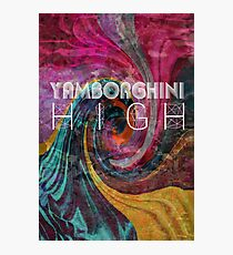 yamborghini high Photographic Print
