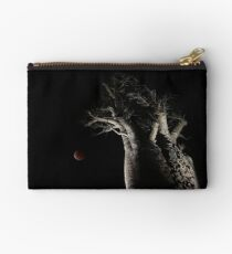 The Blood Moon And The Boab Tree Studio Pouch