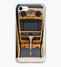 Classic Car Interior With Dashboard View iPhone Case/Skin
