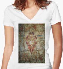 Generating Bliss  Women's Fitted V-Neck T-Shirt