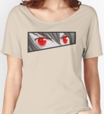 Red rage eyes Women's Relaxed Fit T-Shirt