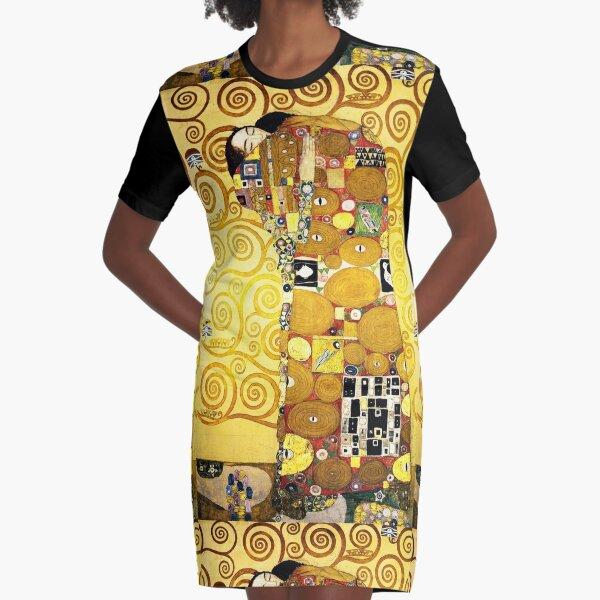 Gustav Klimt El abrazo Vestido camiseta