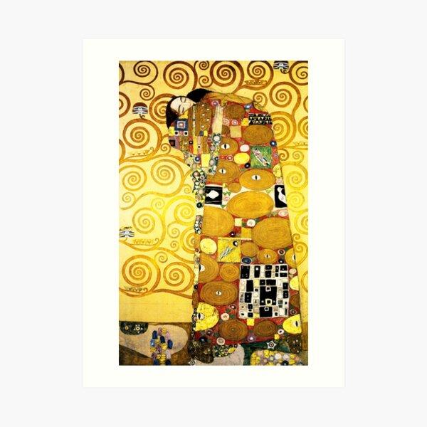 Gustav Klimt Die Umarmung Kunstdruck