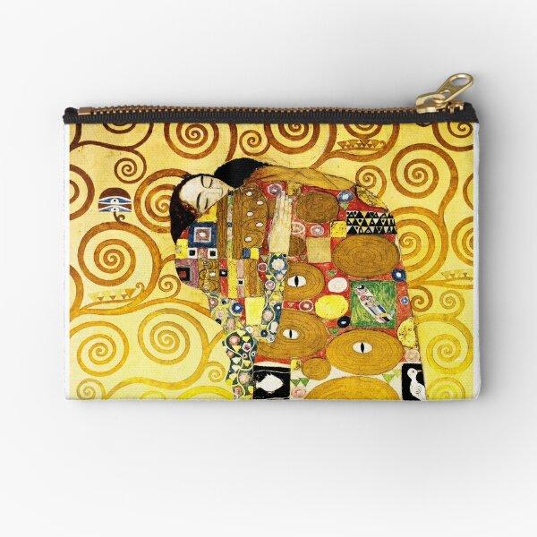Gustav Klimt The Embrace Zipper Pouch