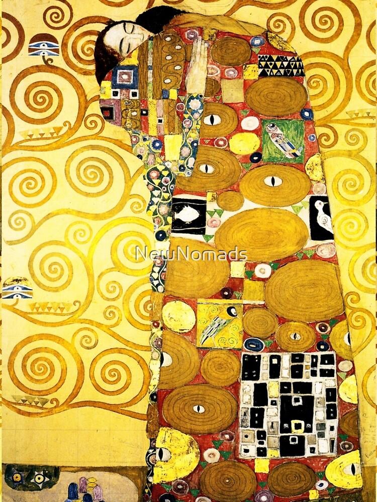 Gustav Klimt The Embrace by NewNomads
