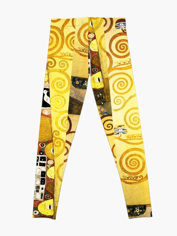 Alternate view of Gustav Klimt The Embrace Leggings