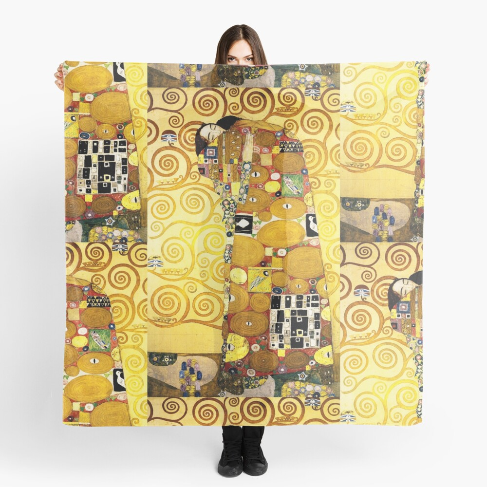 Gustav Klimt The Embrace Scarf