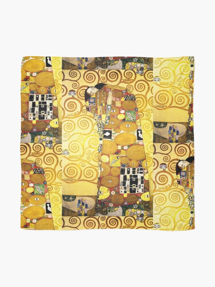 Alternate view of Gustav Klimt The Embrace Scarf