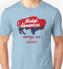 Motel America - Home of the Gods (in high resolution) Unisex T-Shirt