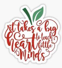 Teach Minds Sticker
