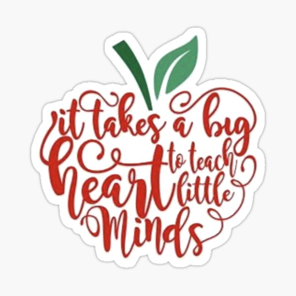 Teach Minds Sticker