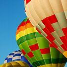 Four Hot Air Balloons by Gino Iori