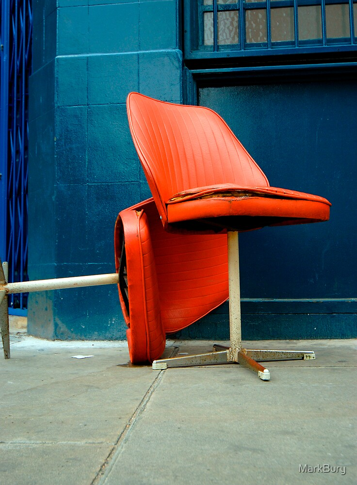 Red Chairs by MarkBury