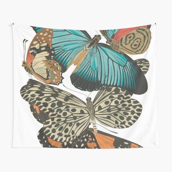 Vintage Butterflies Tapestry