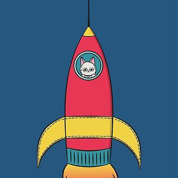 Rocket Cat by krimons
