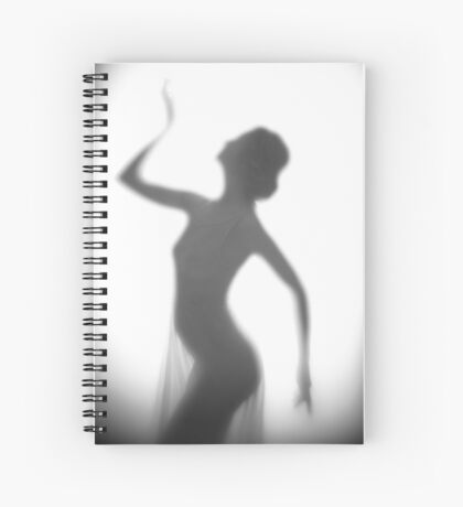 Backlit Spiral Notebook