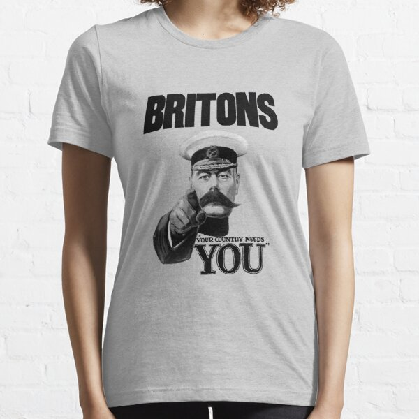Britons Your Country Needs You - Lord Kitchener Essential T-Shirt