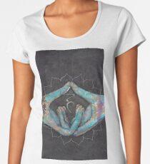 Vishuddha - throat chakra mudra  Women's Premium T-Shirt