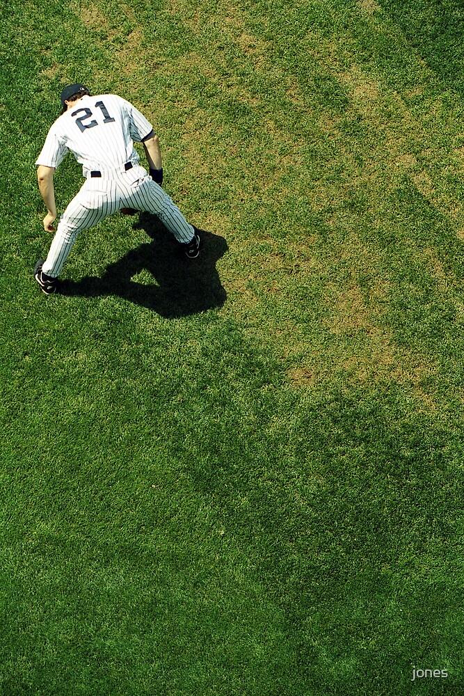 Baseball Player by jones