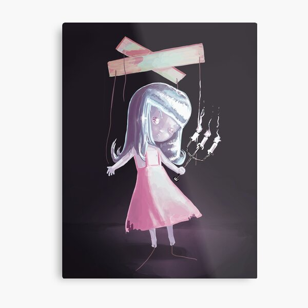 Marionette Doll Metal Print