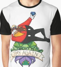 TRY AGAIN Graphic T-Shirt