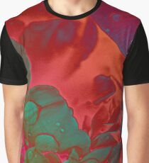 Psychedelic Paeonia Graphic T-Shirt
