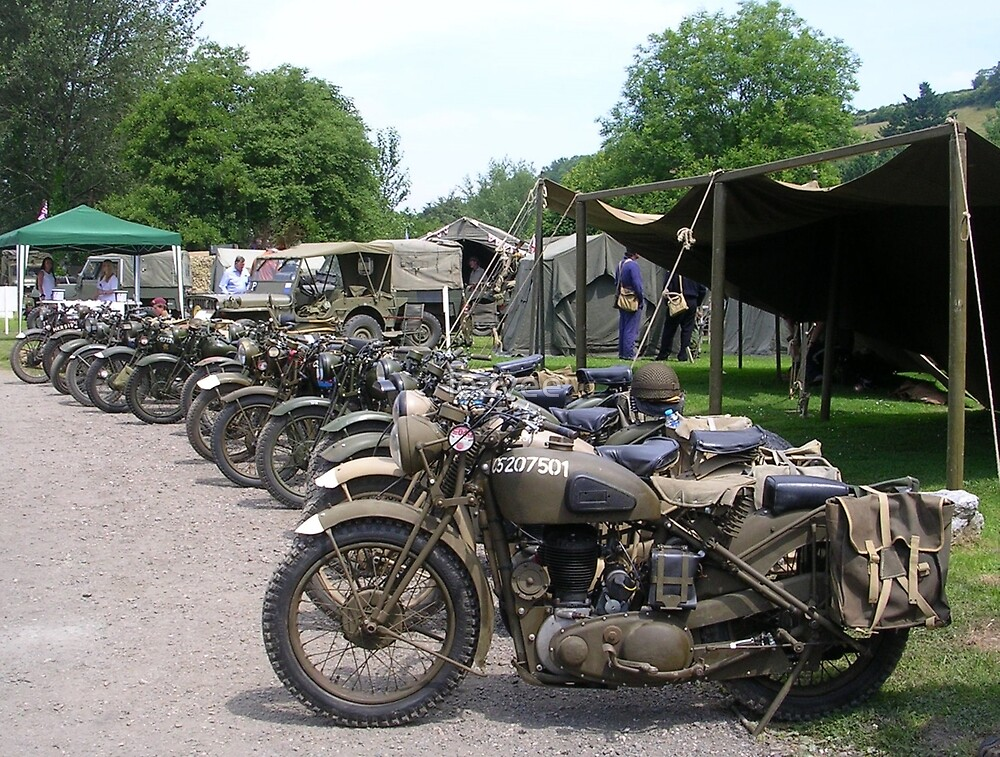 Military Motorbikes by lezvee