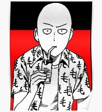 one punch man merchandise Poster