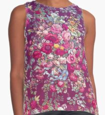 & quot; Bouquety & quot; Sleeveless Top