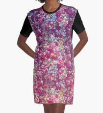 """""""Bouquety"""" Graphic T-Shirt Dress"""