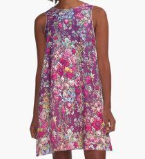 & quot; Bouquety & quot; A-Linien Kleid