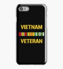 Vietnam Veteran Ribbon Bar iPhone Case/Skin