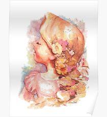 Tangled Watercolor Poster