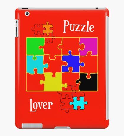 Puzzle Lover iPad Case/Skin