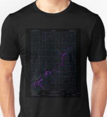 USGS TOPO Map Iowa IA Prescott 175399 1980 24000 Inverted T-Shirt