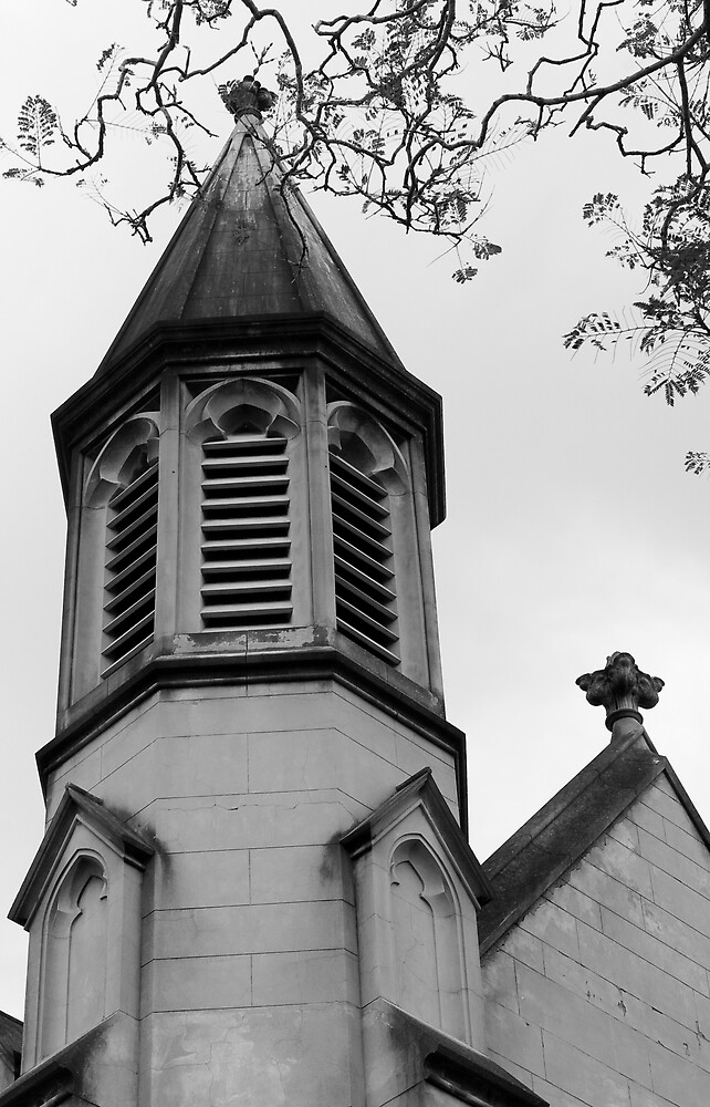 Gothic Church by Robert Mcdowall
